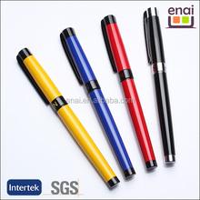 Best Seller Colorful Novelty Logo Customized Promotional Metal Roller Pen