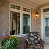 Luxury disign reflective glass aluminium mobile home windows