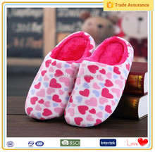 Popular pretty plush import rose flower flower slippers list of shoe manufacturers