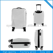 ABS + PC FILM aluminum trolley luggage for business and travelling