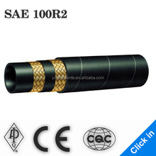 SAE high pressure black welding hand press hydraulic hoses for cheap Smooth Surface Hydraulic Hose
