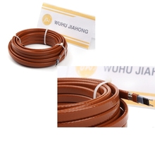 Snow melting heating cable for gable, trench, channel, drainpipe, eave, overhang, ditch