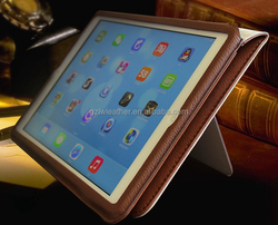 360 Degree Protective Sleeve Genuine Real Leather Case For Ipad Air