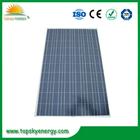Alta eficiência poly painéis solares
