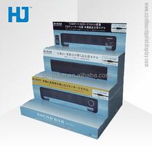 Full Colour Print Cardboard Sound Bar Counter Display Box
