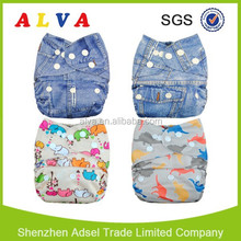 NEW! Alva cloth diaper washable baby cloth diapers baby nappy all in one size