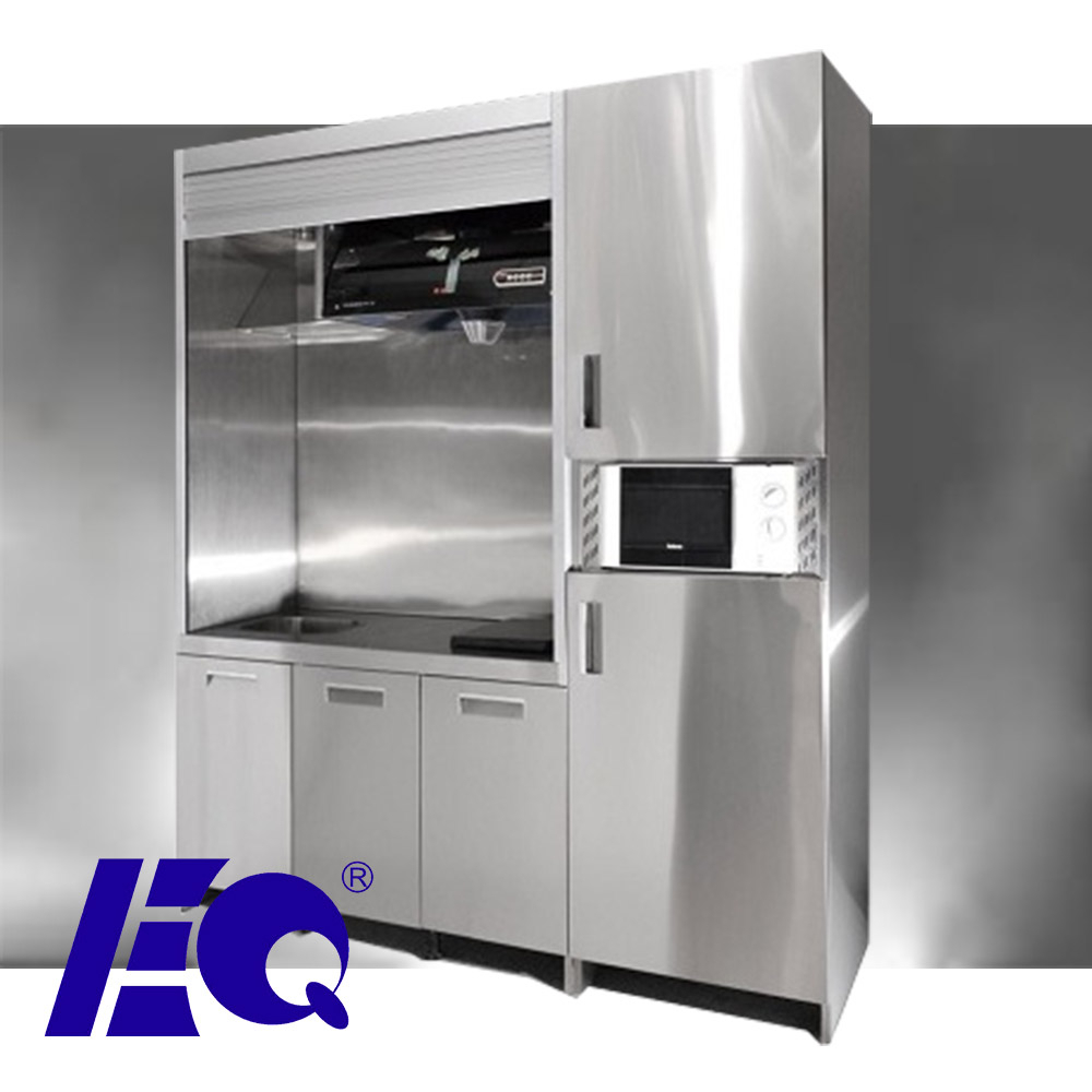 open kitchen mini pantry cabinet oem stainless steel