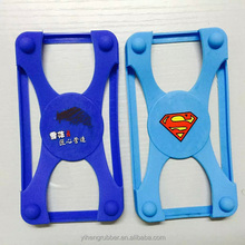 New design lovery universal bumper silicone case for cell phone