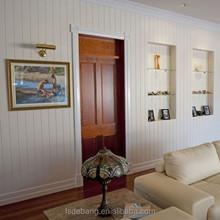 High Quality MDF Moulding Wardrobe Door Panel Interior Wall Decoration Panel