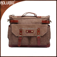Popular shoulder leather beauty and the briefcase