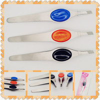 Hot selling metal led tweezers for wholesales