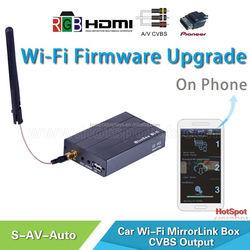 car wireless phone media link rgb mirrorlink car interface