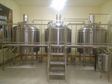 500l 800l 1000l mini beer brewery 100 liter steel beer fermenting