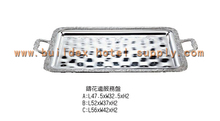 Serving tray series/stainless steel/specail design