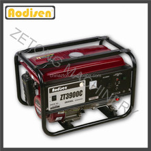 portable 2.5kw 100% copper wire alternator Elemax generator