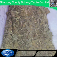 Different ground color african net lace fabric