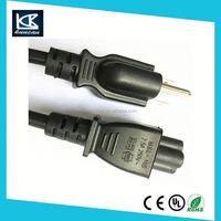Power Cables Shielded AC UL Power Cord (12 feet),Black