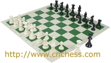 Tournament Size Chess Set & Board