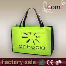 Wholesale recyclable non woven bag/pp non woven bag/Printed Non-Woven Shopper Tote Bags(ITEM NO:N150165)
