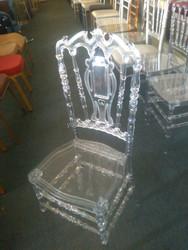 resin transparent tiffany/chiavari wedding chair P-825