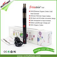 Sales promotion! High quality ego starter kit e cig huge vapor ego twist adjustable voltage ego