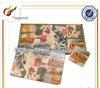 (TWA-013) cheap kids plastic placemats/cork board placemats/cork backed placemats