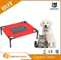 Dog Elevated Folded Iron Pet Bed for Dogs