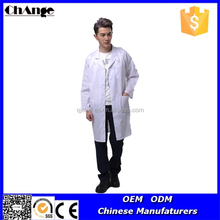 White Color Polycotton Hospital Medical Scrubs Doctors' Uniform