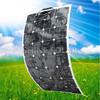 120w sun power solar panel semi flexible solar panel 100w 12v sun power