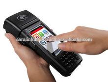 3g, lector de código de barras, msr, tarjeta de contacto, la tarjeta de la nfc, impresora térmica pos terminal móvil