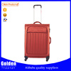2015 Alibaba China new product travel luggage soft nylon luggage bag comfortable hand luggage