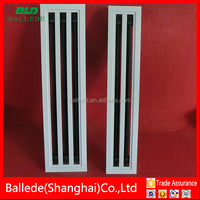 aluminum exhaust slot diffuser air grille for air condition system