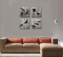 Wholesale Competitive Price Home Decor Wood Wall Painting