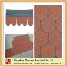 the cheapest red roofing asphalt shingle