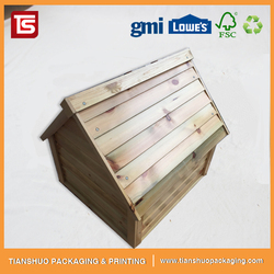 High Quality Wooden Dog House Indoor Pet House Dog Kennel