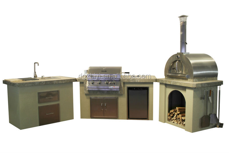 2014 roestvrijstalen keuken centrum eiland met korean barbecue grill bbq grills product id - Keuken centrum eiland ...