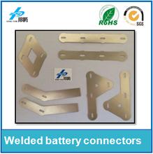 Pure Nickel Plates Nickel Plated Steel for Vehicle Batteries Punching Nickel Sheet Solder Tabs