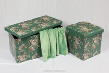 OTM-22 $5.99 New Arrival folding leather Ottoman