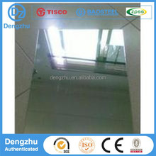 1mm thick stainless steel sheet/plate 2B BA NO.4 HL Mirror finish