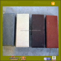 hollow solid red clay paving bricks square pavers