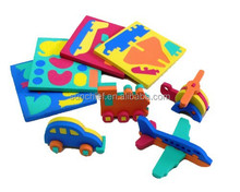 Non-toxic, Mini 3D Puzzle DIY Toy - Vehicles, Animals
