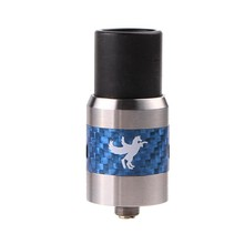 hot selling RDA in USA market the carborn fiber dark horse 1:1 clone dark horse rda atomizer in stock