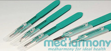 New products--Safety Surgical Scalpel blade sizes ISO and CE certificated