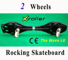 wave street surfing rocking plastic wave flicker skateboard