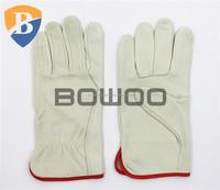 Soft goat skin leather working glove general purpose glove