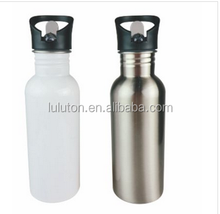 2015 Best choice for drinking traveling stainless steel bottle with different lid