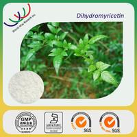Dihydromyricetin free sample KOSHER HACCP FDA certified manufacturer offer pharmaceutical active ingredient 98% dihydromyricetin