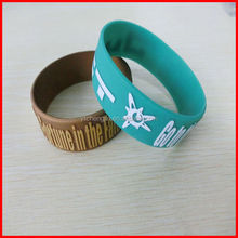 custom embossed bracelet OEM order accepted