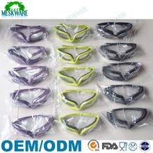 New Product Hot sale Tear Free Anti-Fog plastic onion safety goggles
