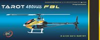 F01564 Tarot Metal Carbon Fiber Trex 450 PRO V2 Flybarless 3GX RC Helicopter ARF Kit TL20006-A (Black) New 450PRO FBL